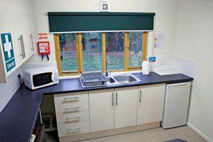 Clubroom tea point / kitchen