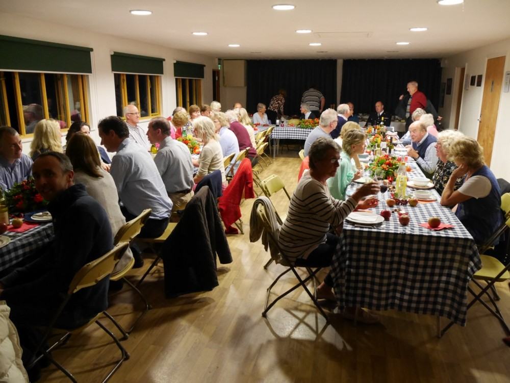 A function in the Clubroom